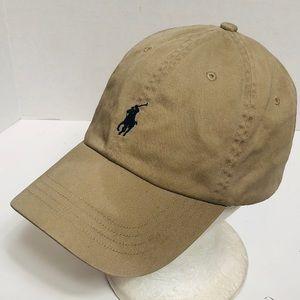 Polo Ralph Lauren Tan Polo hat POLO on back